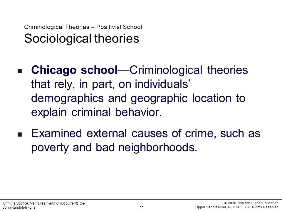 criminal behavior theories Buy introduction to criminology: theories, methods, and criminal behavior  seventh edition by frank e hagan (isbn: 9781412979719) from amazon's book .