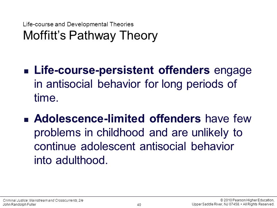 main points of the classical school of criminology theory The classical and positivist approaches to criminological theory were both the classical theory having compared these two approaches to criminology.