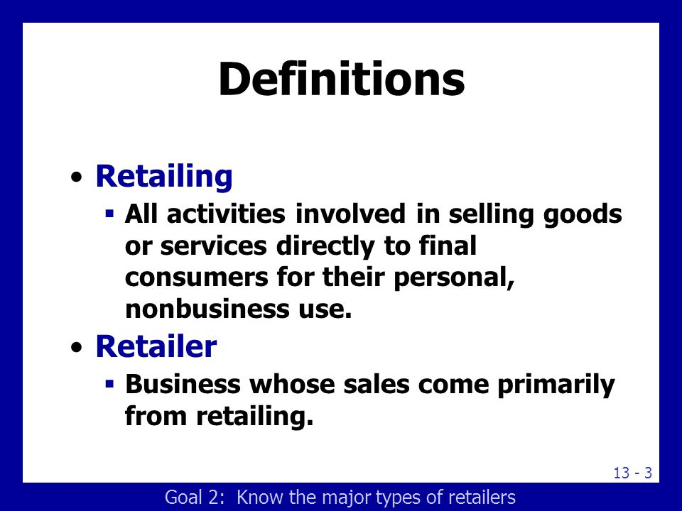 understand the role of retailing in Importance of the retail industry to the us economy in 2017, the us  how retail sales help you understand the economy two women.