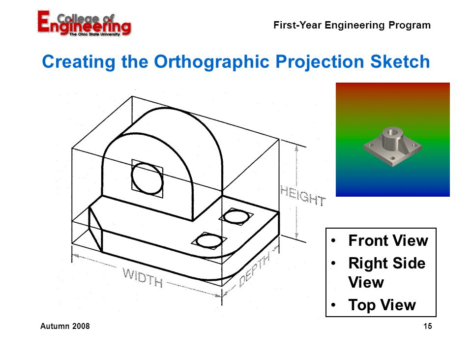 definition and importance of orthographic projection Introduction engineering drawing is a language of technicians they can document and communicate all details of the job using.