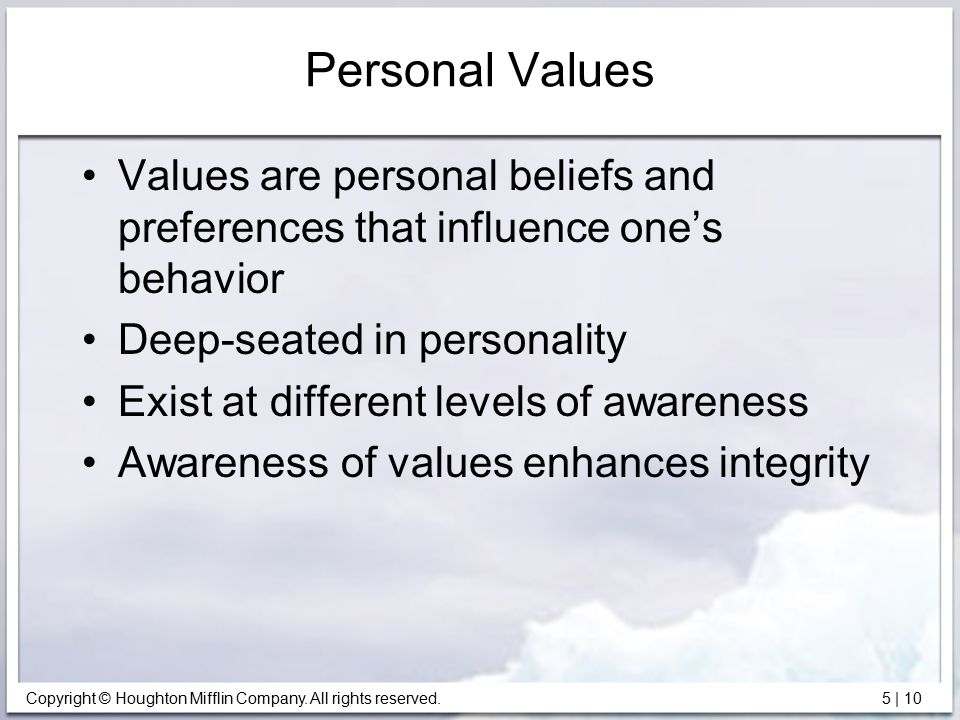 different values, beliefs and preferences essay The united states army is structured on several values and principles that it  upholds, among these are  personal values, beliefs and attitudes essay  the  difference between the two terms depends on personal differences and  preferences.