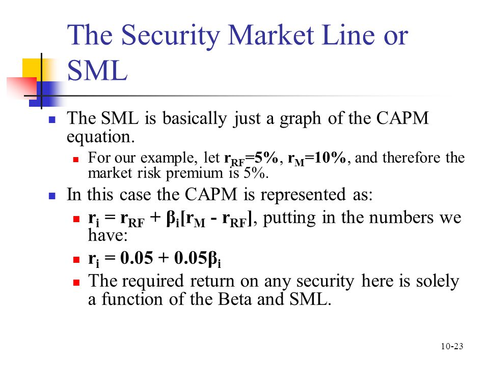 capm the effects of beta Risk and return: diversification  ticket according to the capital asset pricing model, and why  risk is relevant in the capm world, and the beta.