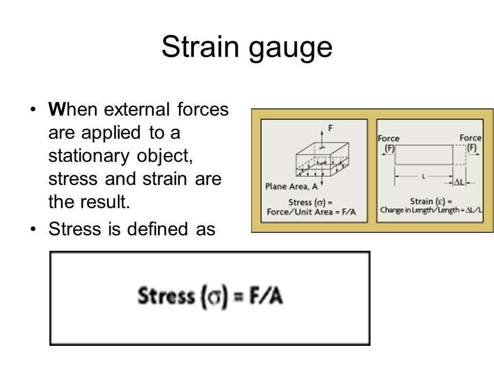 types of strain gauges and their application pdf