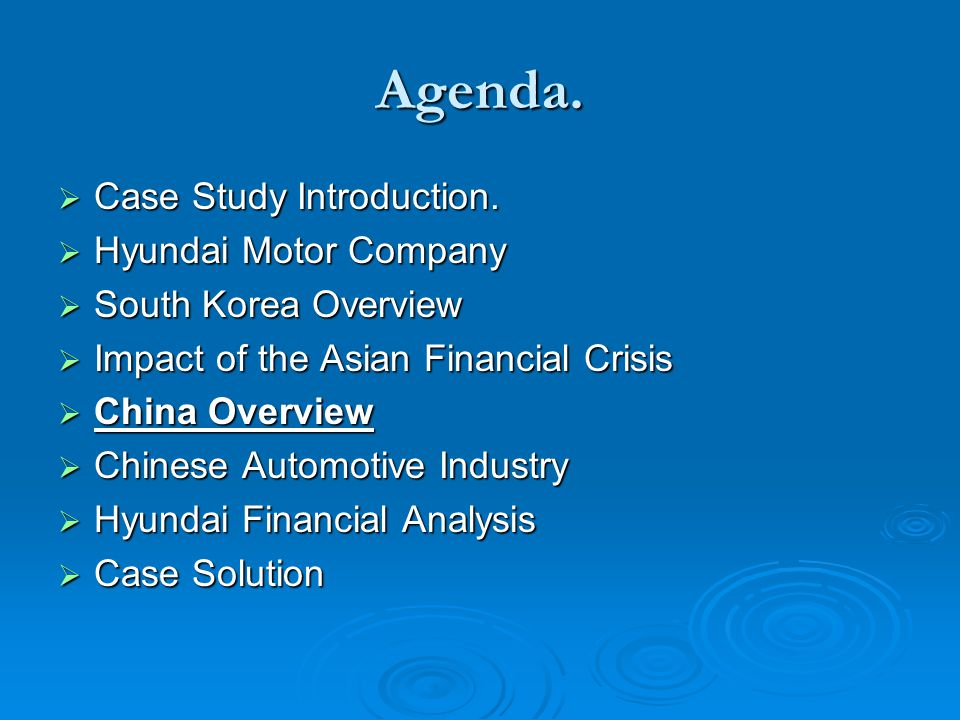 case study of hyundai motor company Resources to learn about enterprise-grade secure file sharing and collaboration efss  case study federation of tax  hyundai motor company australia finds.