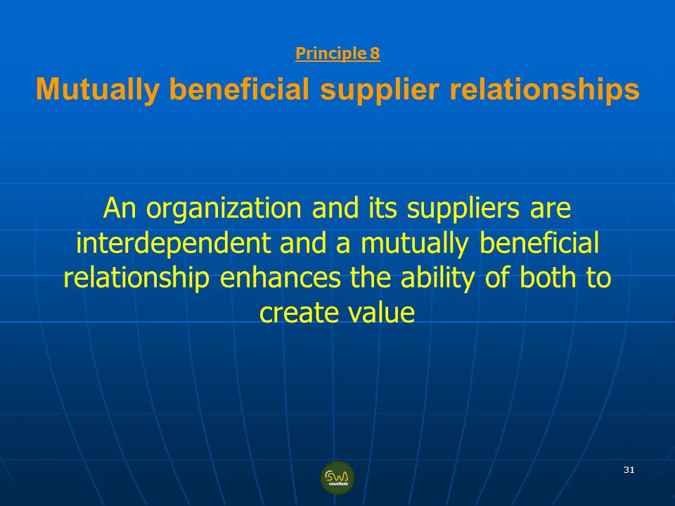 mutually beneficial relationship dating Without mutually beneficial relationships, business becomes a solo endeavor and, therefore, it fails to generate the value its employees aim to create.