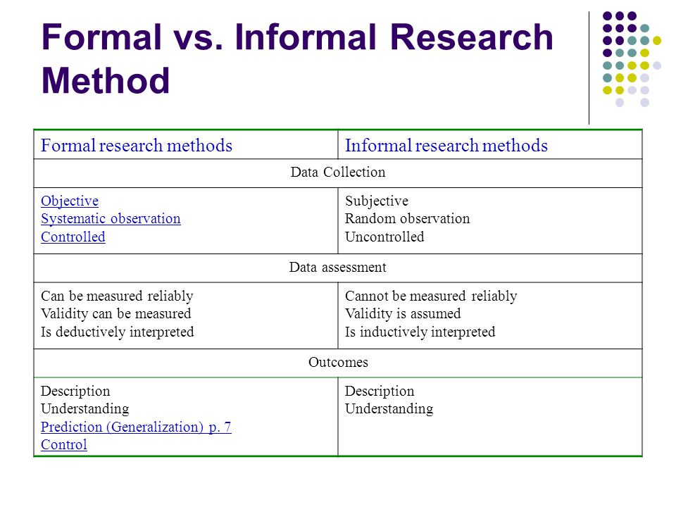 advantages of formal research methods Some of the (plausible) advantages of the use of formal methods for software development are as follows the development of a formal specification provides insights into and an understanding of the software requirements and software design.
