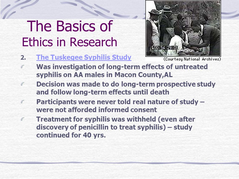syphilis ethics in research