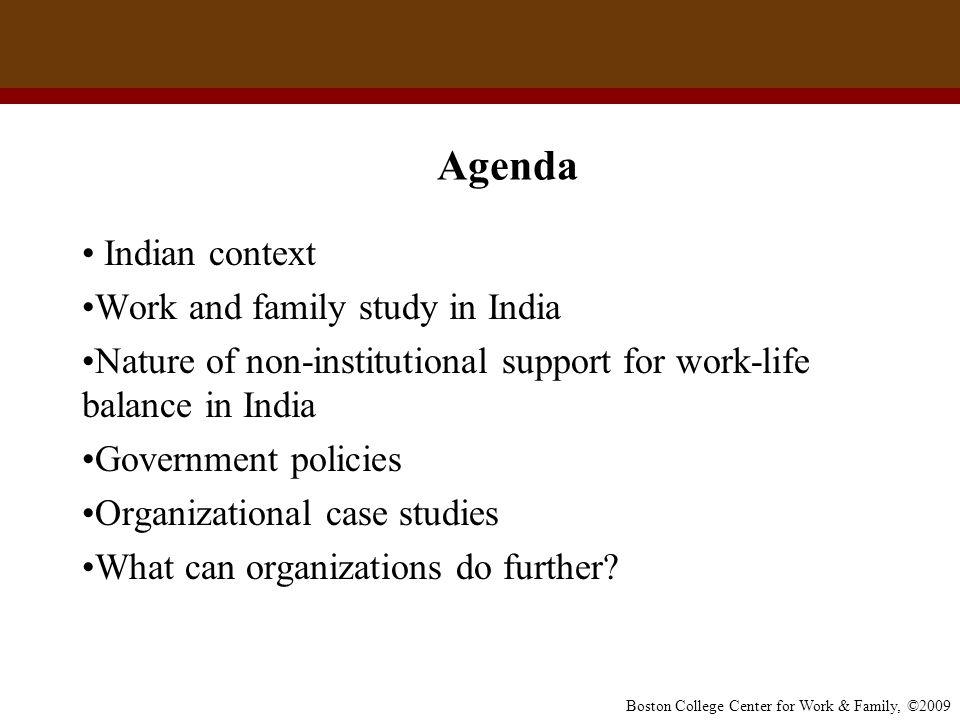 work life balance pdf india
