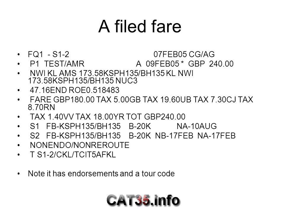 A filed fare FQ1 - S1-2 07FEB05 CG/AG