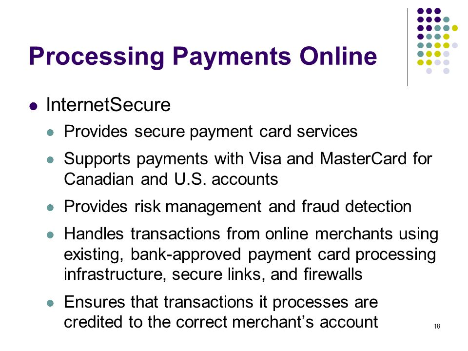 Processing Payments Online
