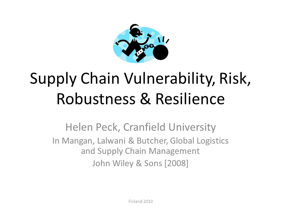 supply chain resilience a risk intelligent The risk of cyberattack, once overhyped, now threatens businesses' very existence, according to a recent survey, 2018 fm global resilience index these attacks raise the specter of stalled operations, disrupted supply chains, class-action lawsuits and permanent brand damage its severity varies .