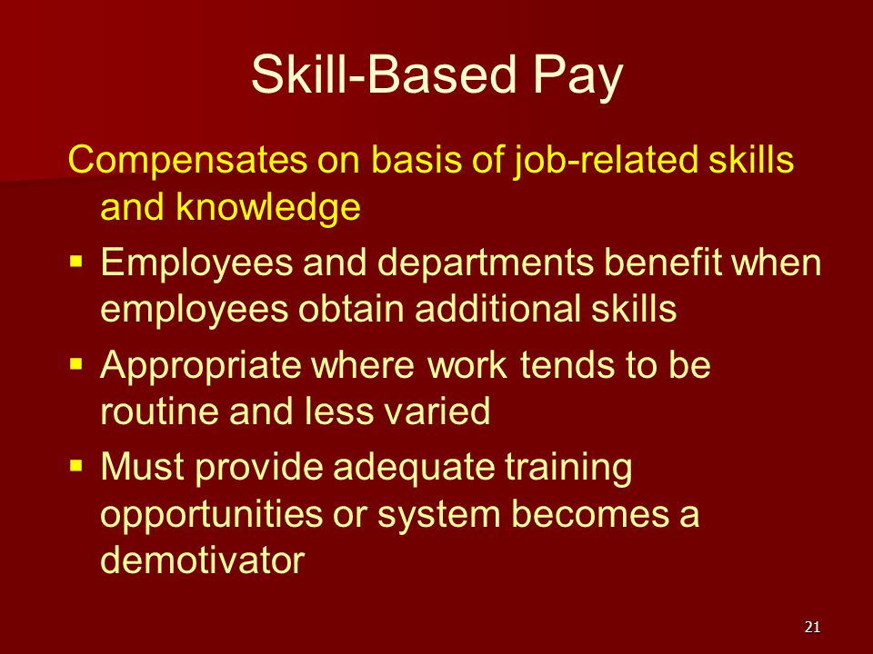 an examination of skill based pay Windows 7, configuring do you have feedback about the relevance of the skills measured on this exam self-paced training based on final exam content.