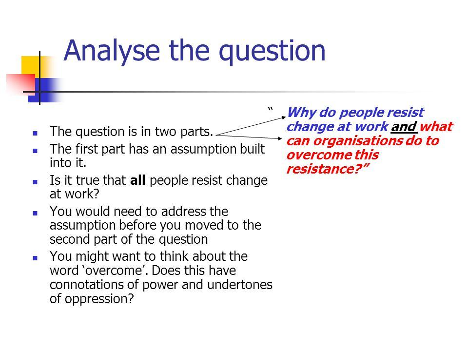 analysis essay topic