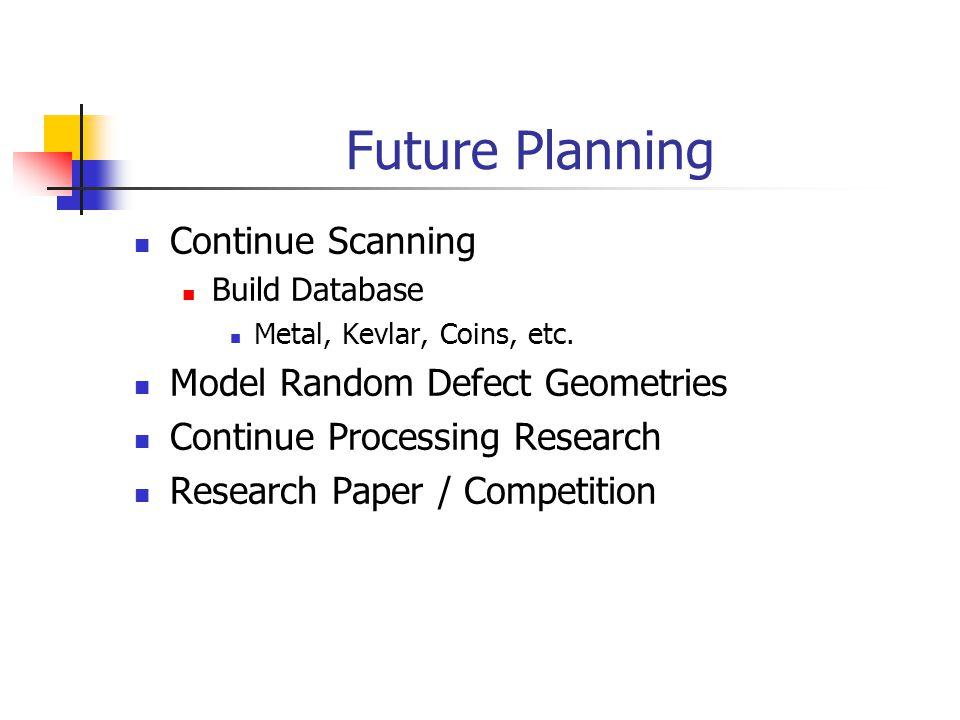 Non destructive evaluation ppt video online download for Future planner online