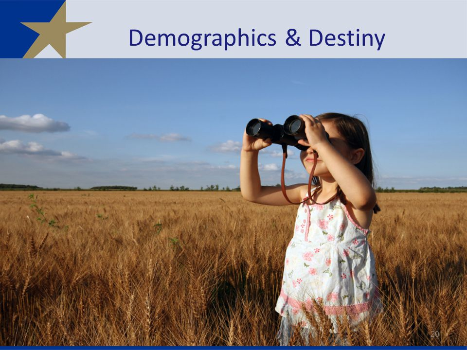 Demographics & Destiny