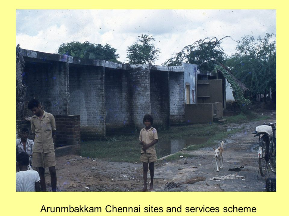 Arunmbakkam Chennai sites and services scheme