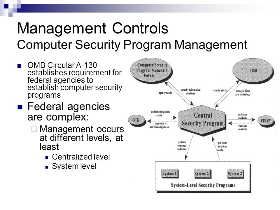 security procedures and guidelines for computer system