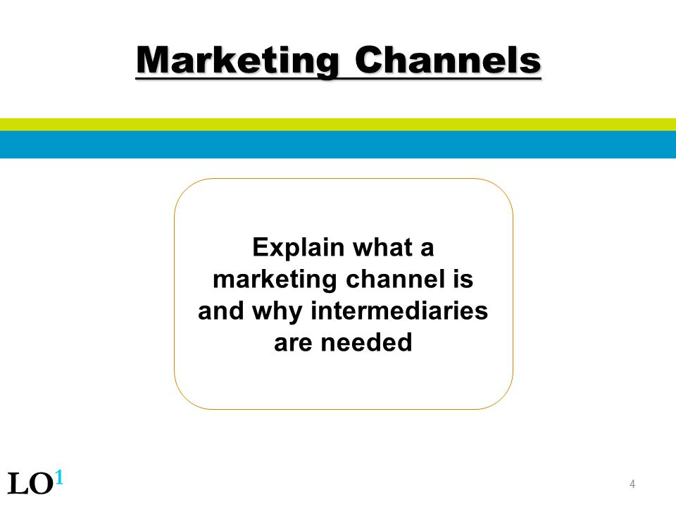 Explain what a marketing channel is and why intermediaries are needed