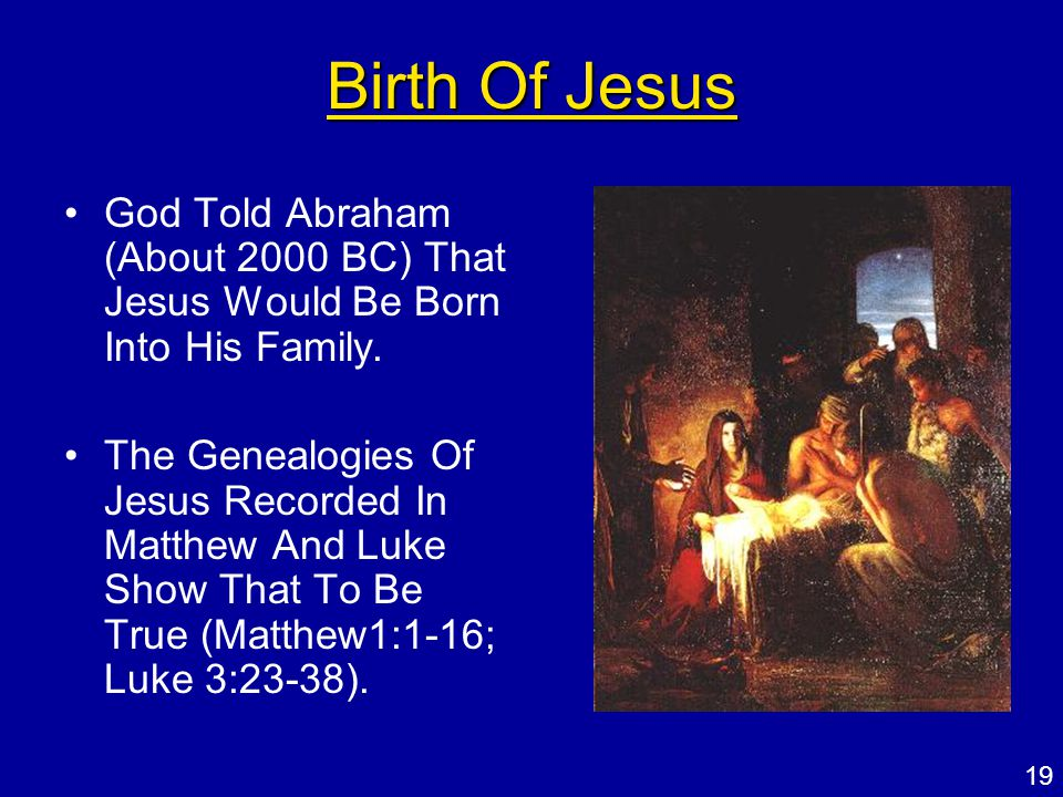 "compare the birth of jesus in matthew and luke Time's cover proclaimed: ""secrets of the nativity: why the story of jesus' birth   so we can test the historical accuracy of matthew by comparing it with luke,."