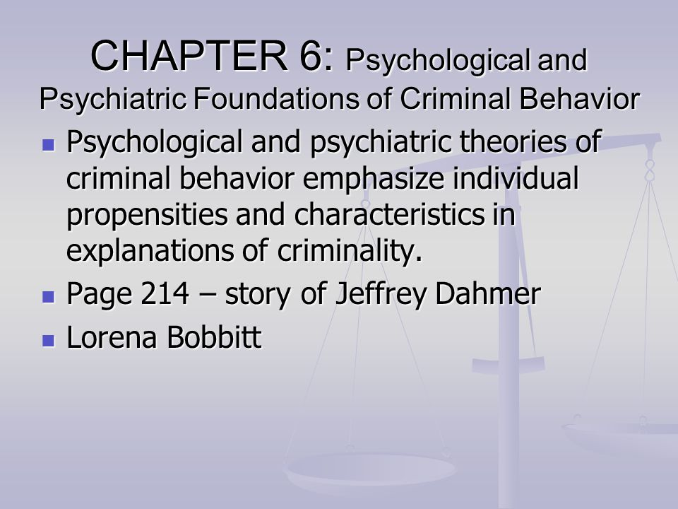 an analysis of chapter 3 foundations of individual behavior Eighth edition organizational behavior part two the individual chapter 2 foundations of individual behavior 81 chapter 3 perception and individual decision.