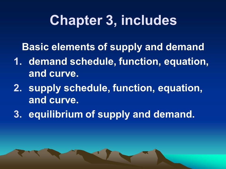 basic elements of supply Treating supply chain management as a strategic variable  supply chain initiatives undertaken by the most  basic services for everyone with the services from .