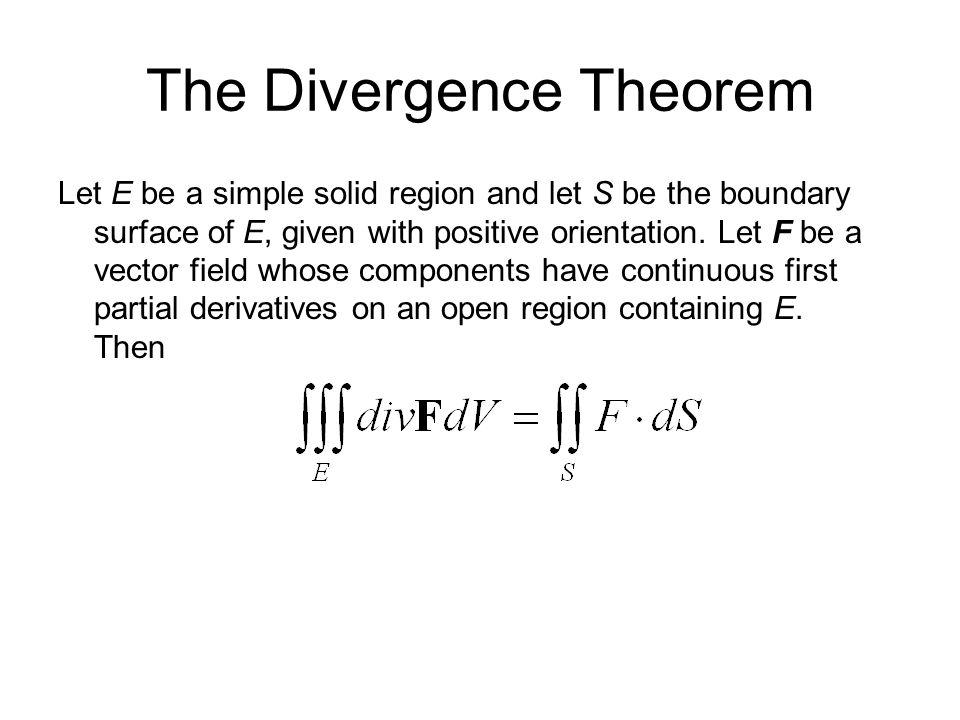 stokes u2019 theorem divergence theorem