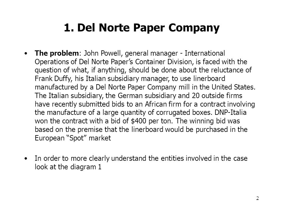 Birch Paper Company Case Solution Harvard Case Solution & Analysis