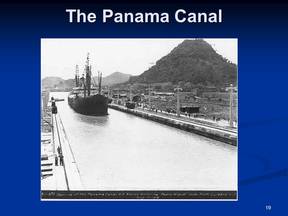 the politics of the panama canal Work on the massive $5 billion panama canal expansion is nearly complete expanding the panama canal alan taylor politics & policy daily.