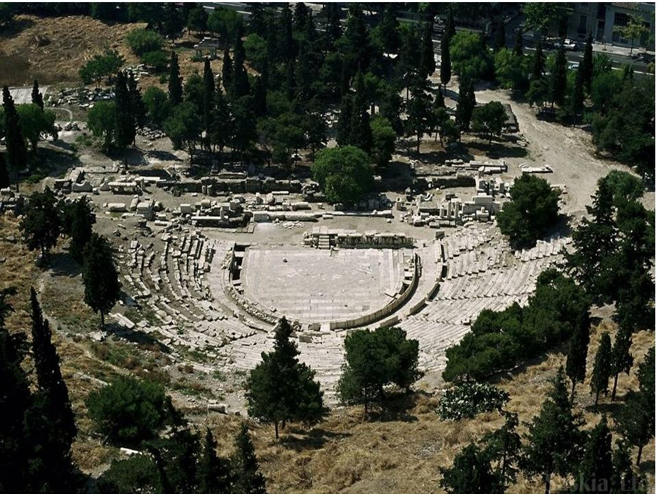 Teatro di Dioniso, Acropoli di Atene (circa 338-326 a.C.)