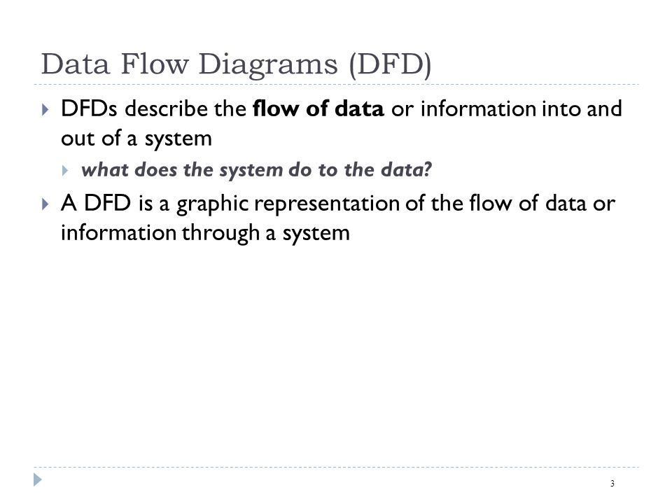 3 data flow diagrams - Software Engineering Data Flow Diagram