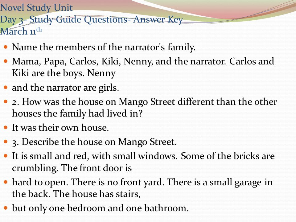 essay house on mango street Disclaimer: this essay has been submitted by a student this is not an example of the work written by our professional essay writers you can view samples of our.