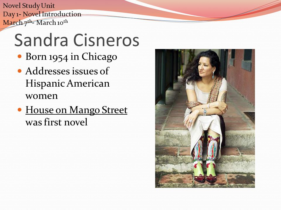 a shy girl blooming into a woman in the house on mango street by sandra cisneros En español | it's difficult to imagine sandra cisneros as anything other than the   classic the house on mango street, celebrates its 25th anniversary,  of her own  students, the women to whom cisneros dedicated the book.