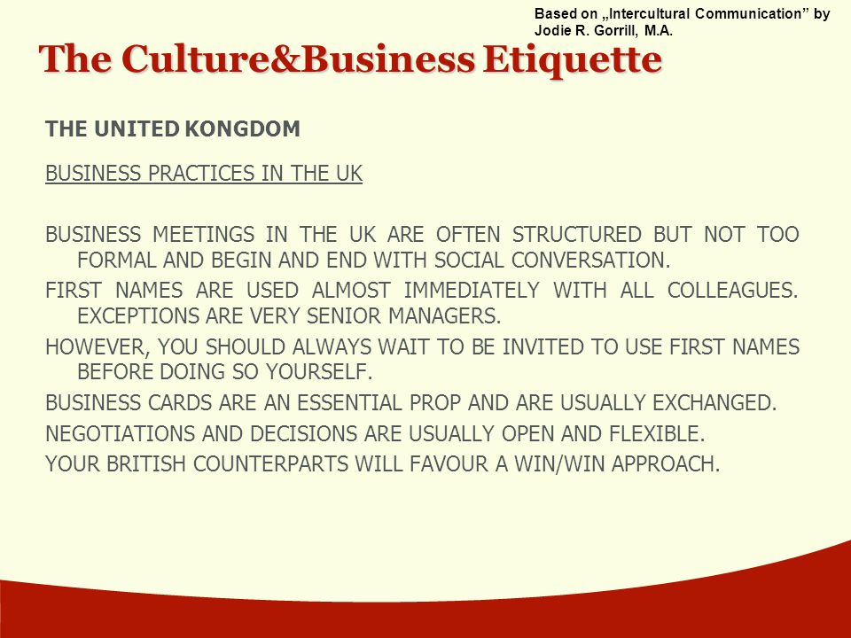 Business Card Etiquette England Gallery - Card Design And Card ...
