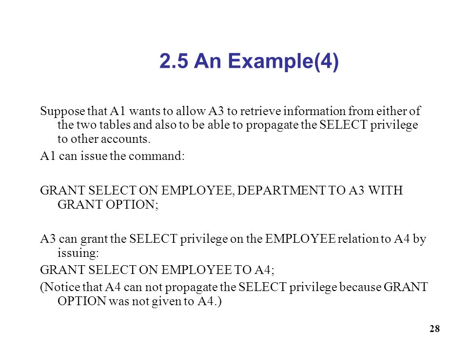 2.5 An Example(4)