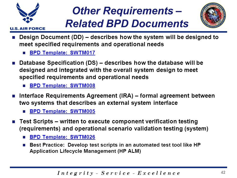 database design specification template - requirements development management ppt video online