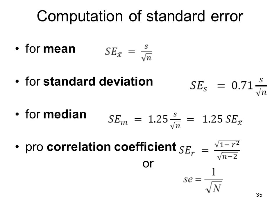difference between standard error and standard deviation pdf