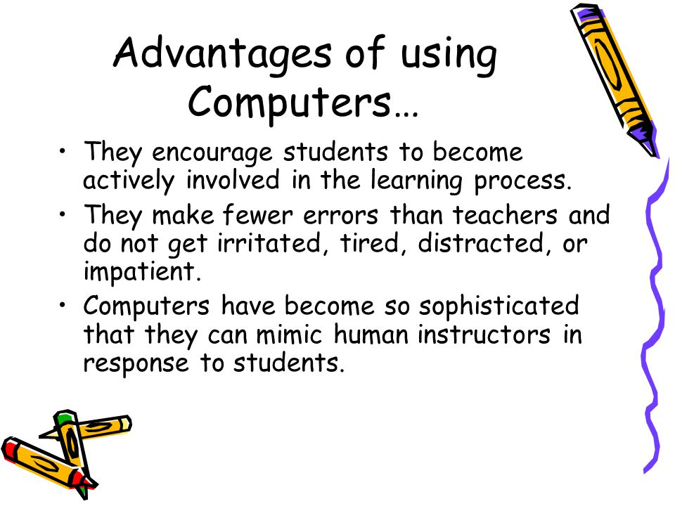 advantages of computer literacy Its shocking that some people still wonder if computer literacy is  there are  many clear advantages to being computer literate in the 21st.