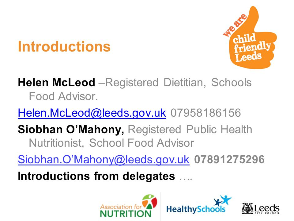 School Food Improving Uk Standards
