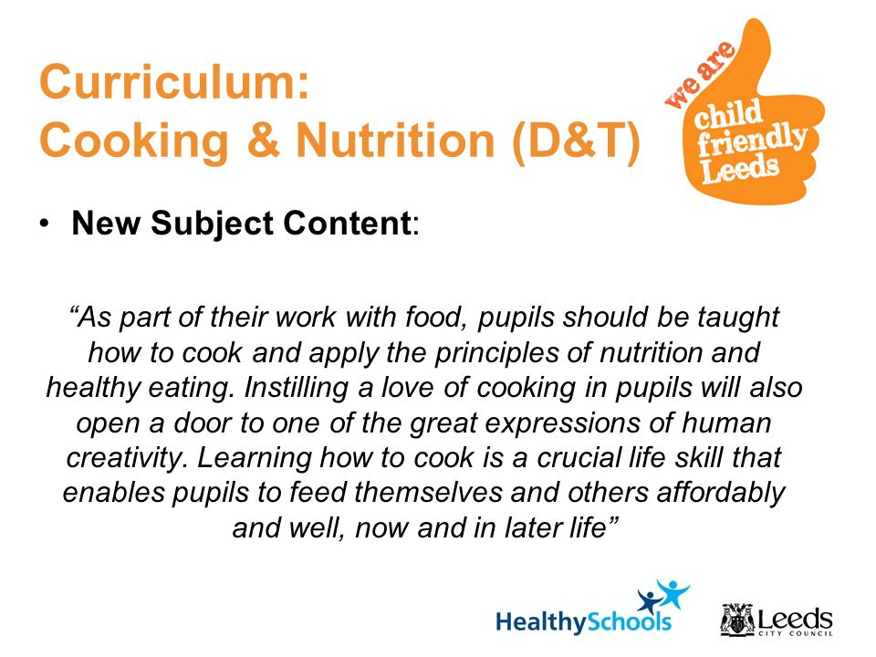 food and nutrition should be removed from the school curriculum But lessons about food and nutrition are glaringly during the school and prepare healthy and safe food the draft curriculum has no clear statements.