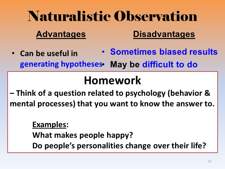 research observation methods