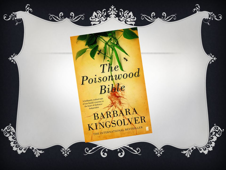 essays about poisonwood bible The poisonwood bible (1998), by barbara kingsolver, is a bestselling novel about a missionary family, the prices, who in 1959 move from the us state of georgia to.