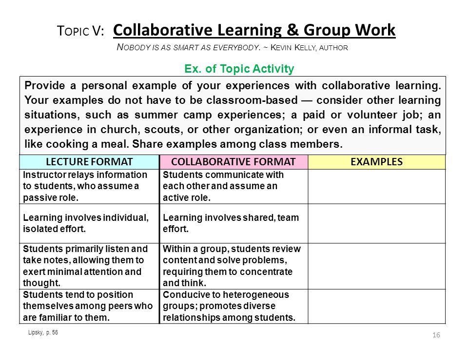 Collaborative Classroom Curriculum Reviews ~ Training college tutors and peer educators ppt video