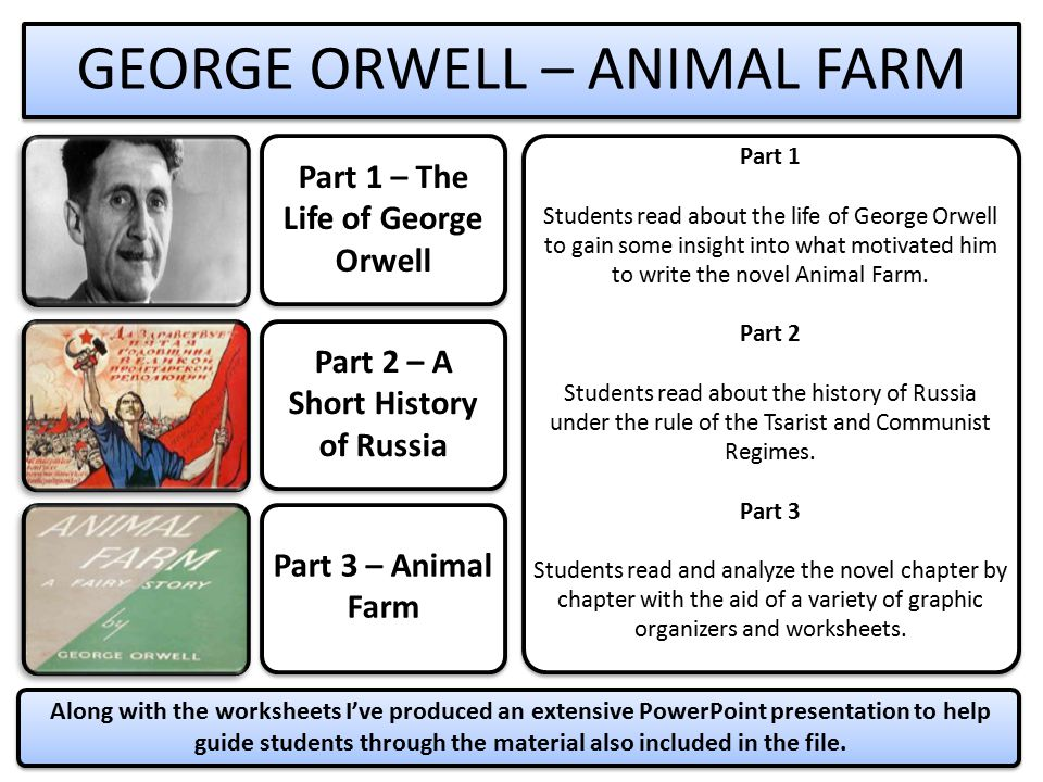 communism through the eyes of george orwell G orwell's animal farm as a critique of communism this essay will deal with one of the greatest and most famous works of world literature, george orwell's animal farm, and its allegorical representation of communist.
