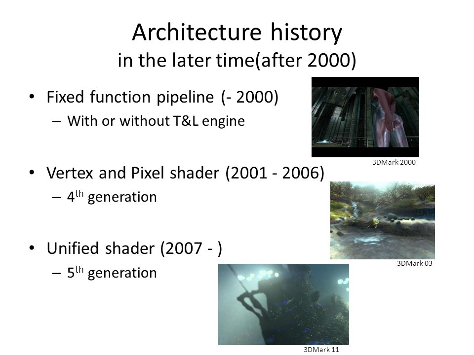 Architecture history in the later time(after 2000)