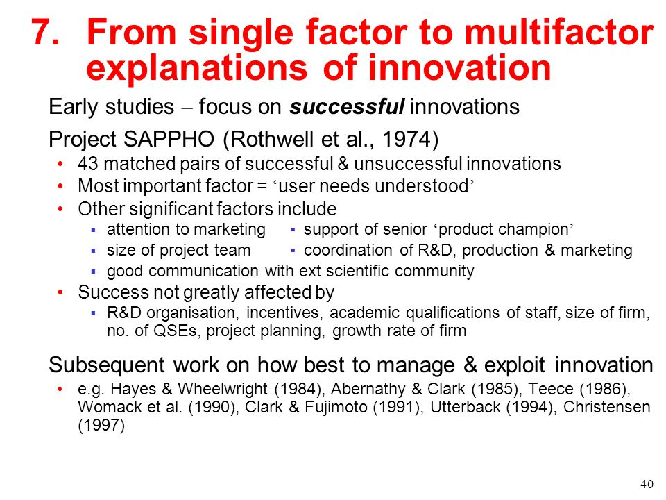 teece model of innovation Research of david j teece biosketch my recent work on innovation management builds on (teece, 1986), i developed a conceptual model which took into account.