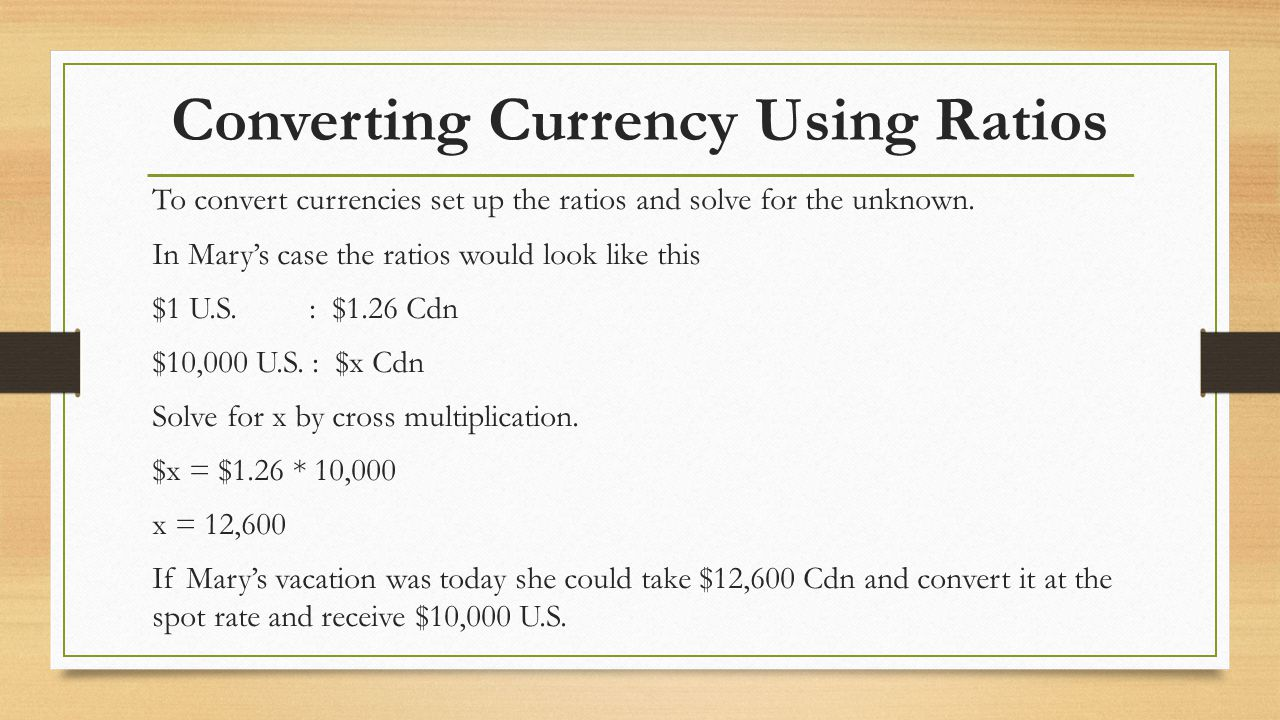 how to read forward currency rates