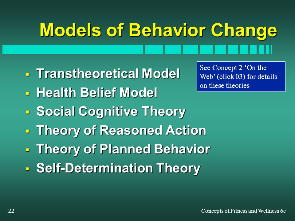 behavior change theories and models in health promotion Progress in health promotion and health behavior research 16  community and group models of health behavior change 283  communication theory and health behavior .