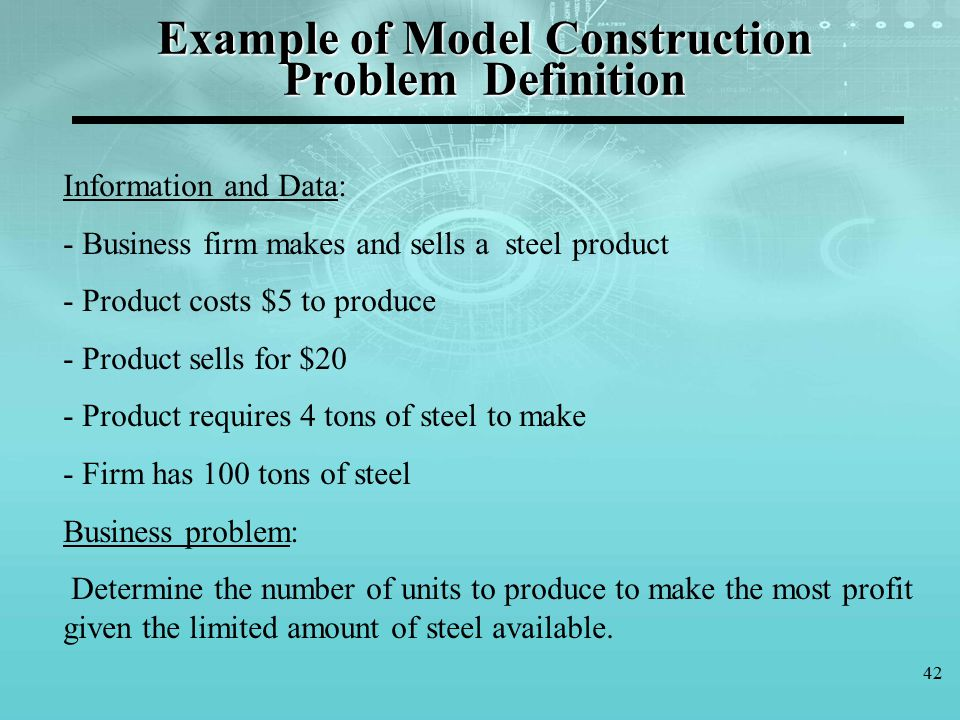 Decision making y lker topcu ph d ppt download for Definition construction