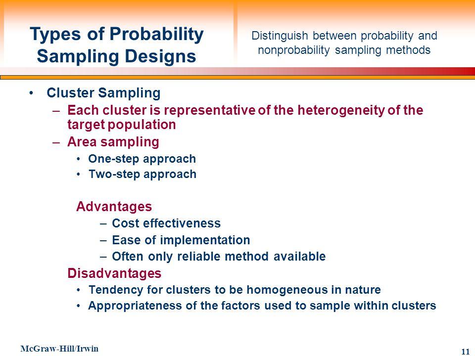judgement sampling advantages and disadvantages pdf