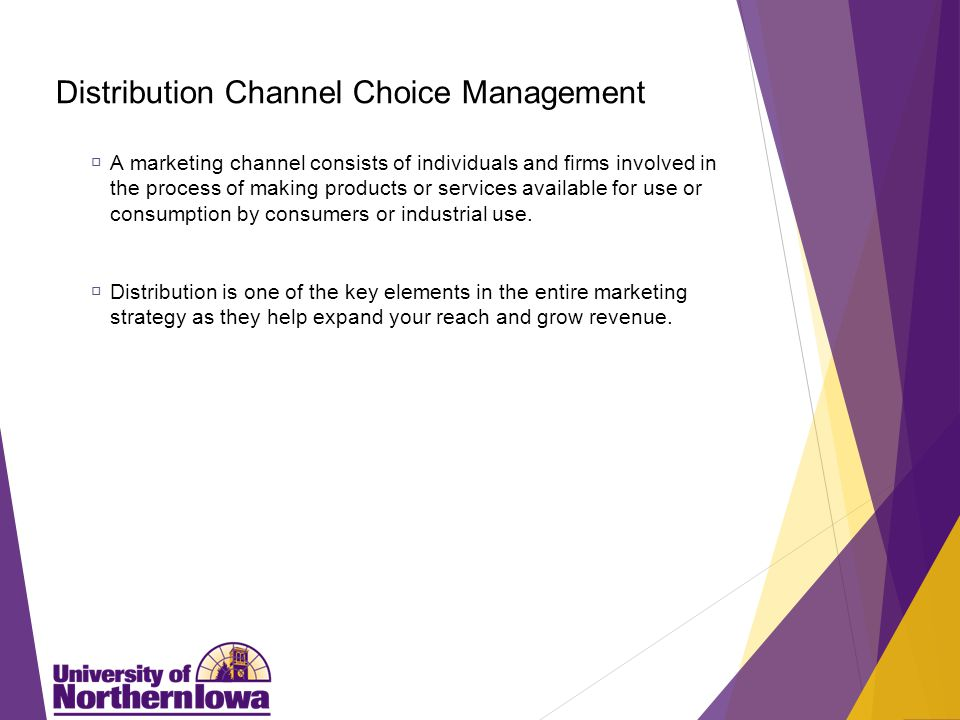 Distribution Distribution is a vitally important activity that focuses on how to reach your target market and the: